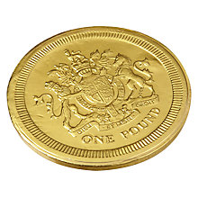 Buy Giant Milk Chocolate Coin, 90g Online at johnlewis.com
