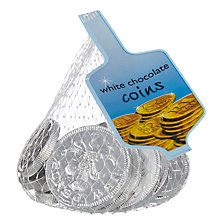 Buy White Chocolate Coins Online at johnlewis.com