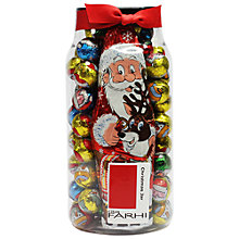 Buy Farhi Praline Chocolate Balls & Santa Tub Online at johnlewis.com