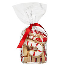 Buy Image on Food Candy Cane Vanilla Gingerbread Biscuits Online at johnlewis.com
