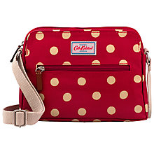 Buy Cath Kidston Busy Bag Button Spot, Berry Online at johnlewis.com