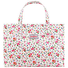 Buy Cath Kidston Bramley Sprig Carry All Bag, Pink Online at johnlewis.com