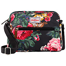 Buy Cath Kidston Bloomsbury Bouquet Busy Bag, Black Online at johnlewis.com