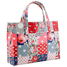 Buy Cath Kidston Carry All Patchwork Bag, Royal Blue Online at johnlewis.com