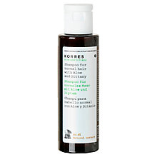 Buy Korres Aloe and Dittany Shampoo, 40ml Online at johnlewis.com