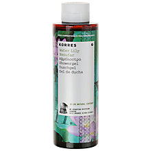 Buy Korres Ater Lily Shower Gel, 250ml Online at johnlewis.com