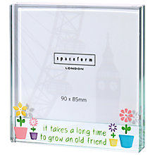 Buy Spaceform Square Flower Pots Photo Frame Online at johnlewis.com