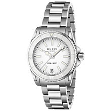 Buy Gucci Women's Dive Stainless Steel Bracelet Watch Online at johnlewis.com