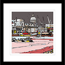 Buy Jamie B. Edwards - Urban St Pauls Cathedral Framed Print, 54 x 54cm Online at johnlewis.com
