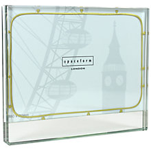 "Buy Spaceform Band Of Gold Heart Photo Frame, 5 x 7"" Online at johnlewis.com"