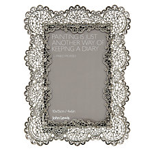 "Buy John Lewis Birgitte Photo Frame, 4 x 6"" Online at johnlewis.com"