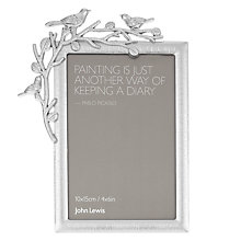 "Buy John Lewis Hazel Photo Frame, 4 x 6"" Online at johnlewis.com"