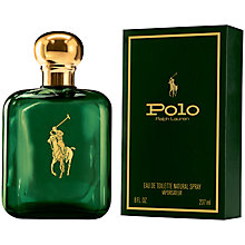 Buy Ralph Lauren Polo Green Eau de Toilette, 237ml Online at johnlewis.com