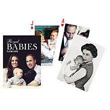 Buy Royal Babies Playing Cards Online at johnlewis.com