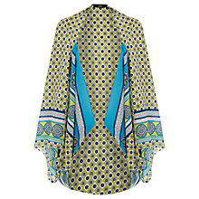 Buy Oasis Tile Print Cape, Multi Online at johnlewis.com