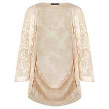 Buy Oasis Devoree Cape, Off White Online at johnlewis.com