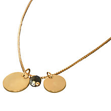 Buy Waterford Coco Pendant, Gold Online at johnlewis.com