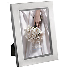 Buy Vera Wang Photo Satin Silver Plated Frame Online at johnlewis.com