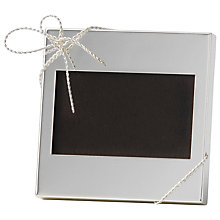 "Buy Vera Wang Individual Mini Frame, 4 x 6"" (L10 x W15cm) Online at johnlewis.com"