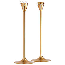 Buy Vera Wang for Wedgwood Love Knots Taper Candle Holder Online at johnlewis.com