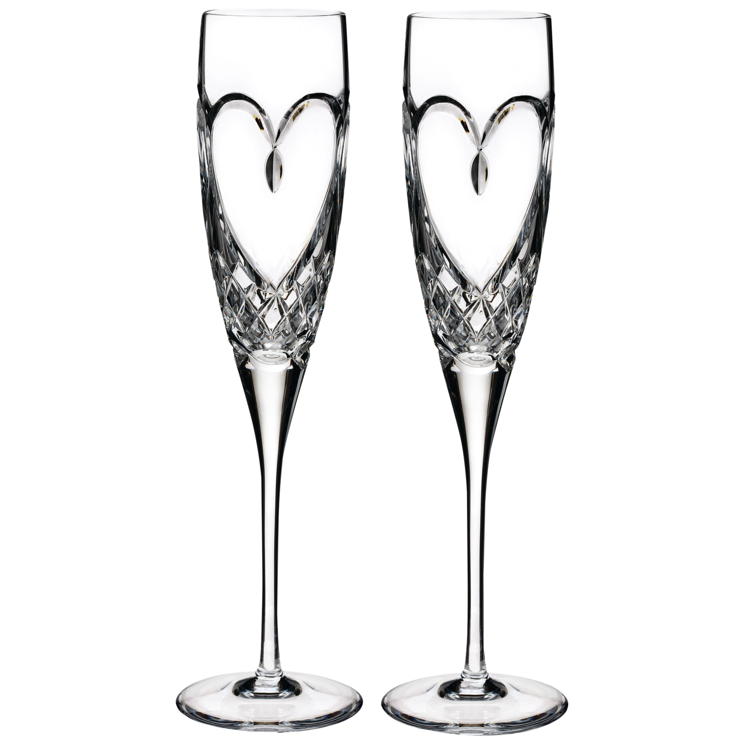Waterford Waterford True Love Flute, Set of 2