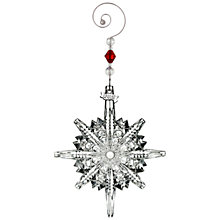 Buy Waterford Annual Snowstar Christmas Decoration Online at johnlewis.com