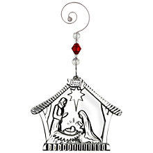 Buy Waterford Nativity Family Christmas Decoration Online at johnlewis.com