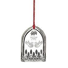 Buy Waterford Two Turtle Doves Christmas Decoration Online at johnlewis.com
