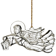 Buy Waterford Angel Christmas Decoration Online at johnlewis.com