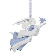 Buy Wedgwood Angel with Star Ornament Online at johnlewis.com
