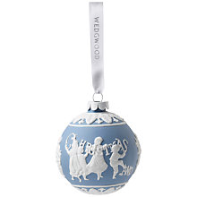 Buy Wedgwood Merry Christmas Decoration Online at johnlewis.com