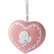 Buy Wedgwood Breast Cancer Annual Christmas Decoration Online at johnlewis.com