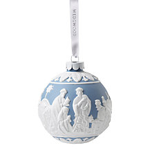 Buy Wedgwood Three Wise Men Christmas Decoration Online at johnlewis.com