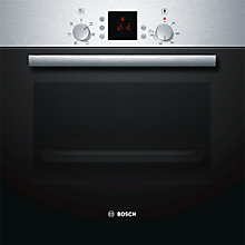 Buy Bosch HBN331E9B Built-In Single Oven, Brushed Stainless Steel Online at johnlewis.com