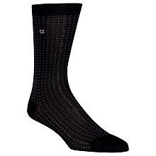 Buy Calvin Klein Check Crew Socks, One Size Online at johnlewis.com