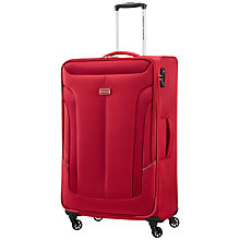 Buy American Tourister Coral Bay 4-Wheel 79cm Expandable Large Suitcase Online at johnlewis.com