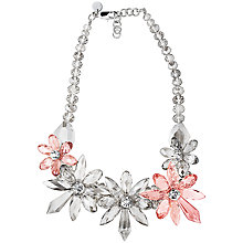 Buy Dyrberg/Kern Treasa Shiny Beads Necklace, Silver Online at johnlewis.com