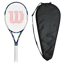 Buy Wilson Juice 100UL Tennis Racket with Free Racket Cover Online at johnlewis.com