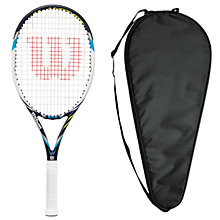 Buy Wilson Juice 108 Tennis Racket with Free Racket Cover Online at johnlewis.com