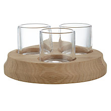 Buy John Lewis Croft Triple Tea Light Holder Online at johnlewis.com
