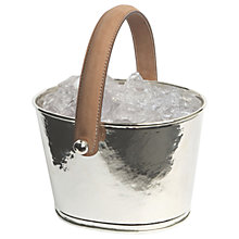Buy Culinary Concepts Leather Handle Ice Bucket Online at johnlewis.com
