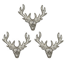 Buy Culinary Concepts Stag Candle Pins, Set of 3 Online at johnlewis.com