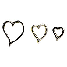 Buy Culinary Concepts Heart Candle Pins, Set of 3 Online at johnlewis.com