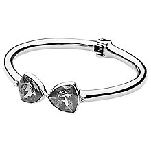 Buy Dyrberg/Kern Bridalia Swarovski Crystal Hinged Bangle Online at johnlewis.com