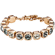 Buy Dyrberg/Kern Conian Swarovski Crystal Rose Gold Bracelet Online at johnlewis.com