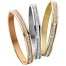 Buy Dyrberg/Kern Lorbel Mixed Swarovski Crystal Bangles, Multi Online at johnlewis.com