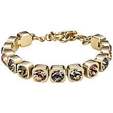 Buy Dyrberg/Kern Conian Swarovski Crystal Gold Plated Bracelet Online at johnlewis.com