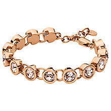 Buy Dyrberg/Kern Innis Swarovski Crystal Bracelet, Rose Gold Online at johnlewis.com