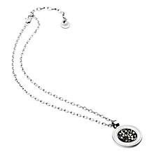 Buy Dyrberg/Kern Yano Necklace, Silver Online at johnlewis.com