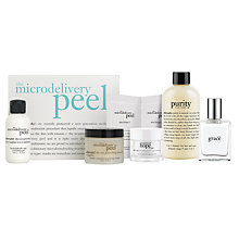 Buy Philosophy Microdelivery Peel Kit with FREE Gift Online at johnlewis.com